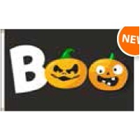 Boutique Flag - BOO (2'x3')