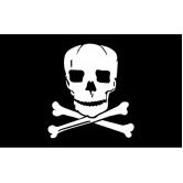 Jolly Roger Boutique Flag (2'x3')