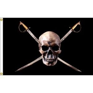 Pirate Boutique Flag (2'x3')