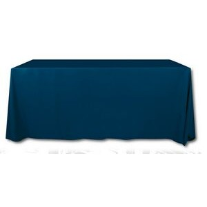 Blank Polyester Poplin 6' Table Cover (132