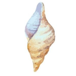 Conch Shell Temporary Tattoo