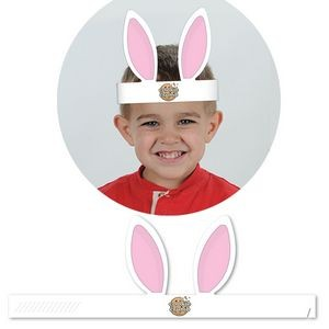 Custom Printed Paper Stock Bunny Ears Headband