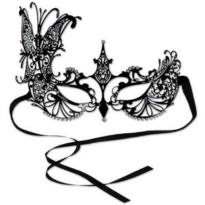 Metal Filigree Masquerade Mask