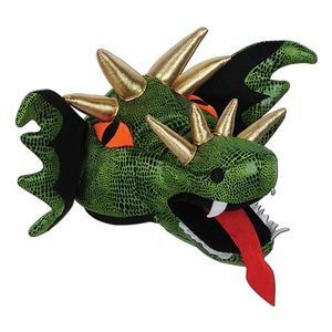 Plush Dragon Hat