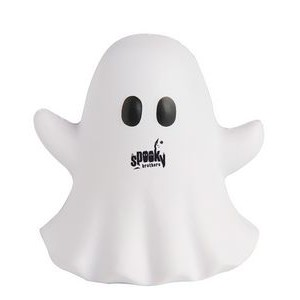 Ghost Emoji Squeezies® Stress Reliever