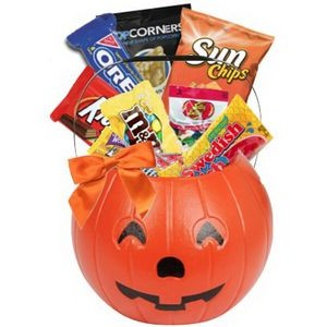 Halloween Pumpkin Candy Basket