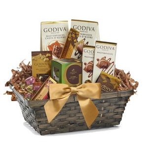 Chocolate Filled Gift Basket