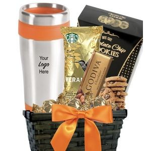 Fall Tumbler, Coffee & Cookie Basket