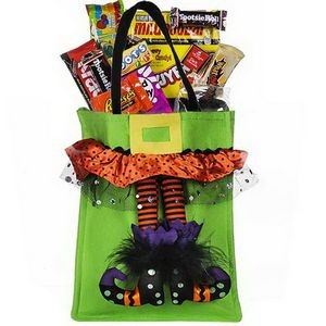 Halloween Candy Tote Bag (Green)