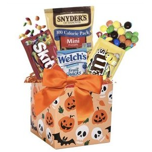 Trick or Treat Candy Basket