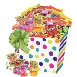 175-piece Candy Basket with Fun Size Assortment (Multi Color)