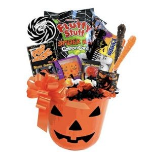 Halloween Candy Gift Basket (Lime Green)