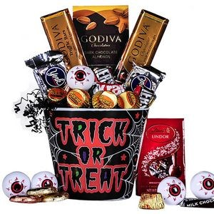 Halloween Gourmet Chocolate Gift Basket