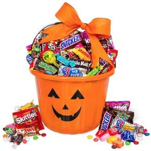 Halloween Basket of Treats (Orange)