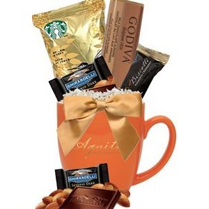 16 Oz. Fall Gourmet Gift Mug (Orange)