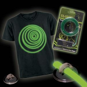 Green Lumi Lite Electronic Costume KIT