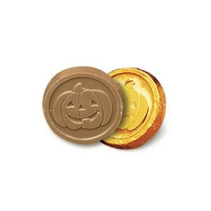 Pumpkin Chocolate Coin