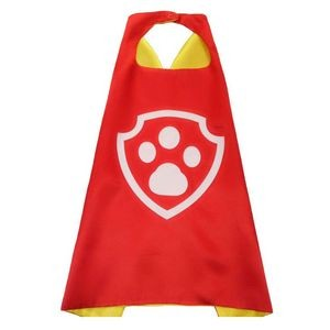 Double Layer Children Satin Cape