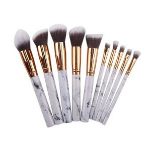 10 Marbled makeup brushes beauty tools