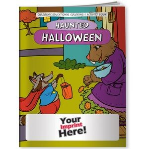 Coloring Book - Halloween Haunted Holiday
