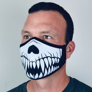 Full-Color No Feel Print Cotton Social Distancing Face Mask