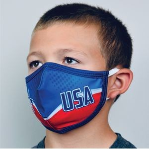 Sublimated Social Distancing Face Mask