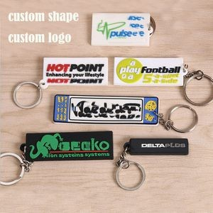 Custom PVC Key tags