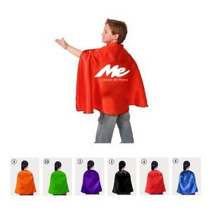 Kid Superhero Cape/Satin Cape