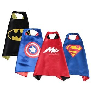 Double Layer Kids Superhero Cape