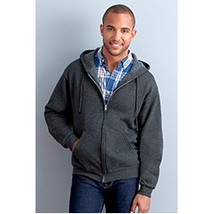 Jerzees Nublend Adult Full-Zip Hooded Sweatshirt