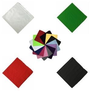 "18"" 100% Cotton Bandanas Headbands Cowboy Handkerchiefs"