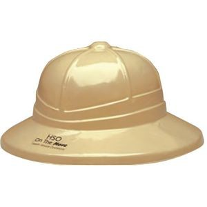 Plastic Pith Helmet with Label