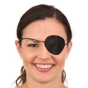 Silk Pirate Eyepatch