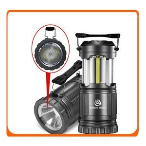 NEW Outdoor Emergency COB LED Camping Flashlight Folding Lantern Portable Collapsible Lantern