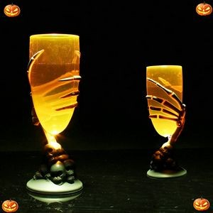 Light Halloween Wine Glass Water Cup