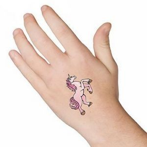 "Colorful Temporary Tattoo 2""*2"""