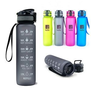 Drinking Water Bottle With Time Marker