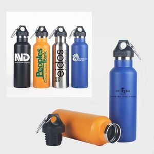 Double Walled Insulated Water Bottle 600ml