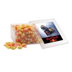 Acrylic Box w/Candy Corn