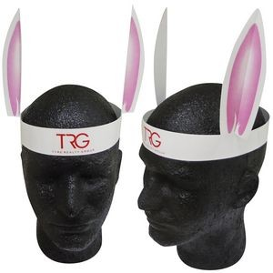 Rabbit Ears Headband with Stock Graphic