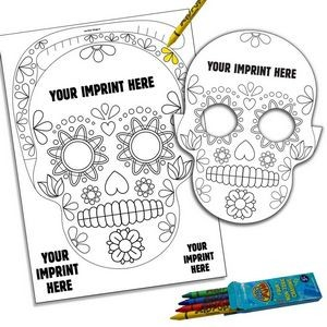 Skull Pop-Out Mask Kit