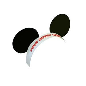 Pre-Printed Mouse Ears w/ Elastic Band