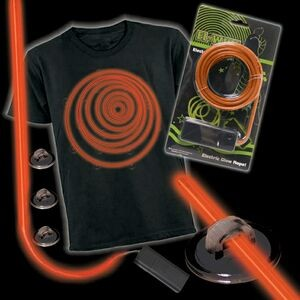 Orange Lumilite Electronic Costume Kit