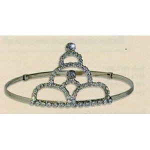 "3"" Stacked Arch Tiara Hatband"