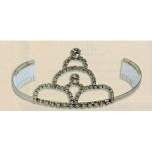 "3"" Stacked Arch Tiara w/Combs"