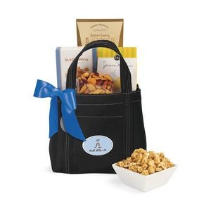 Piccolo Grab N' Gourmet Treats Tote - Black