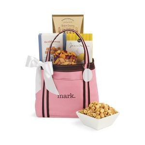 Piccolo Grab N' Gourmet Treats Tote - Pink-Brown
