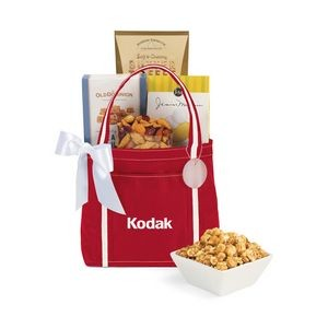 Piccolo Grab N' Gourmet Treats Tote - Red