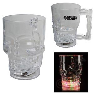 20 Oz. Light Up Skull Mug