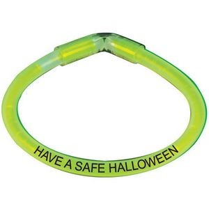Have A Safe Halloween Safety Glow Bracelet